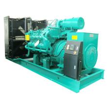 50Hz 800kw Googol-Maschinen-Kraftstoff mischte Generator-Satz-Gasdiesel