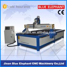 Machine de coupeur de plasma de la série 1530 de puissance de Jinan pour l'acier