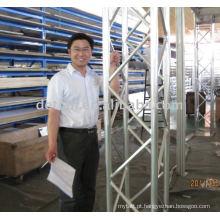 sistema de apoio em alumínio ST400
