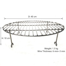 steel mesh basket grate grill wire mesh cooking