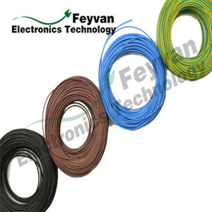 Leading for China Home Appliances Wire,Electrical Panel Wiring,Home Wiring Supplier UL1007 PVC Insulated Electronic Wire supply to Tanzania Exporter