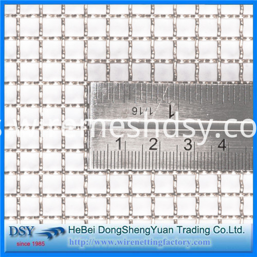 crimped wire mesh price