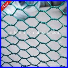 1/2 Zoll pvc beschichtetes galvanisiertes sechseckiges Drahtgeflecht / Huhndrahtgeflecht