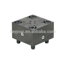 direction type two-way logic valve cover plate