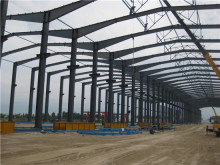 industrial steel high quality decorated steel structure construction paint booth