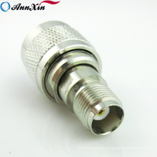 Adapter Tnc Buchse auf N Stecker Adapter Nickelplated RF Coax Stecker gerade