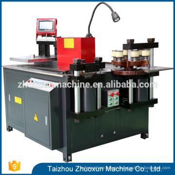 Factory Nc Use Bending The Copper Hand Press Sheet Cutter Machine Servo Cnc Busbar Bender