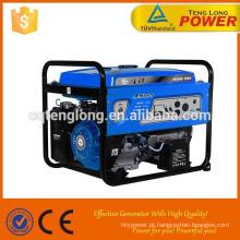CE ISO9001: 2008 certificado AC saída 5kva gerador a gasolina