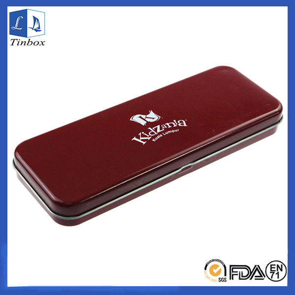 Rectangular Metal Pencil Heded Tin Box