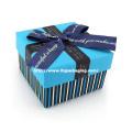 Caja de papel de la boda del chocolate de la alta calidad con la cinta