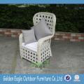 Popular SGS PE Rattan Garden Wicker Leisure Chair