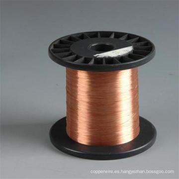 CCA alambre de cobre de alambre de aluminio revestido de cobre