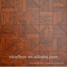 Pavimento em madeira maciça de parquet N5 ELM PARQUET FLOOR
