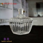 Glass Sugar Pot for candle container