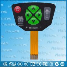 Interruptor de membrana de alta calidad con certificación UL para cámara