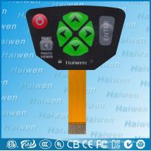 Высококачественный мембранный выключатель с сертификатом UL для камеры