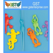 Stretchy Flying Frogs and Lizards 8cm