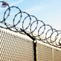 Iron Wire Material Anti-rust razor blade barbed wire