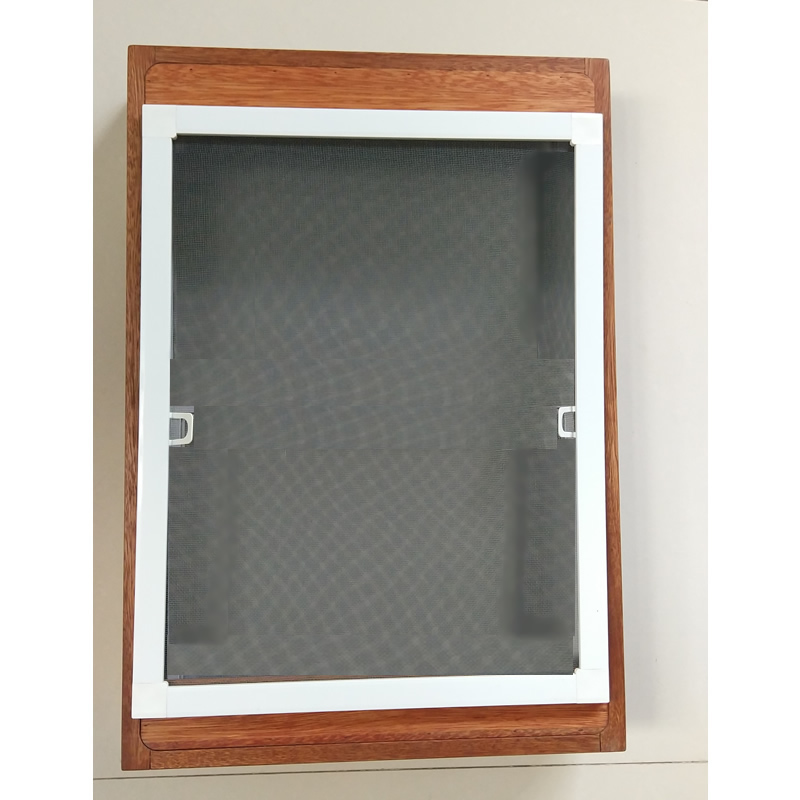 Aluminium windows with mosquito net fiberglass net