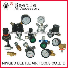 regulador del filtro de aire y manómetro