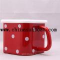 High Quality Enamel Customized Mug