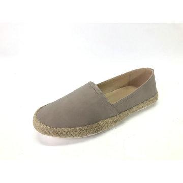 Damen PU Slip-On Leichte Espadrilles Schuhe