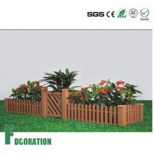 Plantador de WPC bricolaje exterior, caja impermeable del WPC de la flor