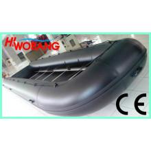 Barco inflável barato da borracha de 7-10m com motor externo