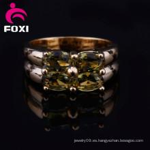 Anillo de oro al por mayor 18k de los anillos de bodas del precio