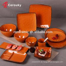 Weihnachten Keramik Steinzeug billig einfaches Abendessen Aufladeeinheit Platte