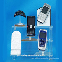 Vitrine sur mesure téléphone acrylique transparent