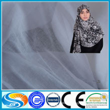 spun polyester voile for scarf