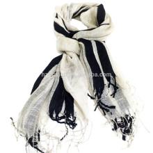 2016 Твердый цвет Льняной шарф
