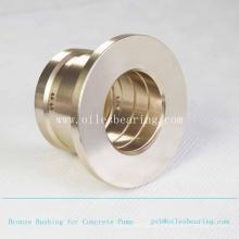Buje de bronce fundido de alta calidad, buje recto de bronce autolubricado, rodamiento de precisión JDB-1U con ranuras de aceite