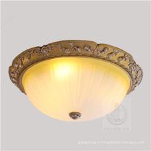 Lampe de plafond en verre de nouveau modèle 2015 avec résine (SL92668-3)