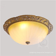 2015 New Model Glass Ceiling Lamp with Resin (SL92668-3)