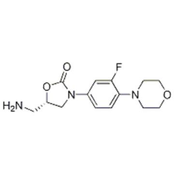 2-Oxazolidinone, 5-(aminomethyl)-3-[3-fluoro-4-(4-morpholinyl)phenyl]-,( 57278852,5S) CAS 168828-90-8