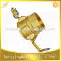 """Brass Camlock Couplings, type D, size from 1/2"""" to 6"""""""