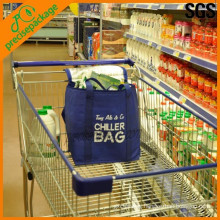 Eco-friendly middle size market shopping cooler bag