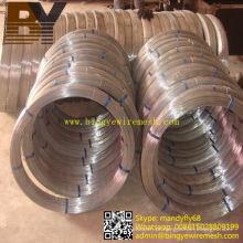 Arame em forma de oval galvanizado quente