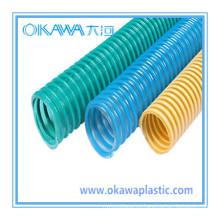 Manguera de PVC espiral / manguera de succión de PVC / manguera de agua de PVC