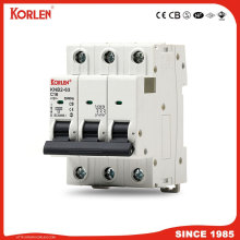 Patented Miniature Circuit Breaker with CB TUV Ce Certificate MCB IEC/En60898 10ka