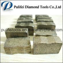 Diamant-Sägeblatt-Segment für Granit Marmor Basalt