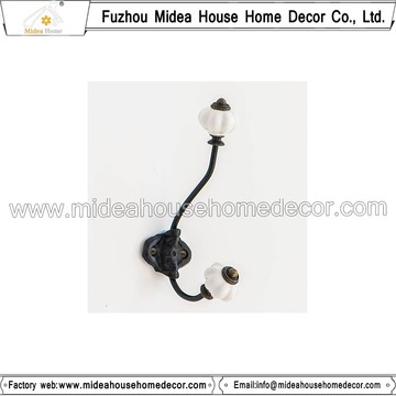 Wholesale Cast Iron Hooks with Ceramic Knop