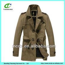 Moda de Corea acolchada ropa forrada invierno mens