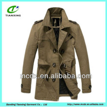 Korea fashion quilted lined winter mens clothes