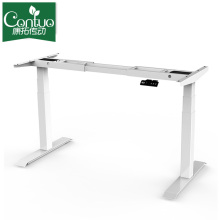 Office Modern Electric Adjustable Folding Compute Table Leg For Metal Frame