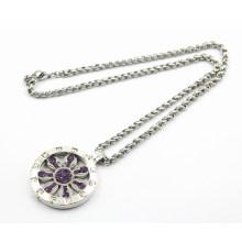 Neue Ankunfts-Art- und Weisesilber-sich hin- und herbewegende Locket-Halskette