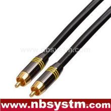 Tipo de montaje Cable de interconexión Conector RCA a conector RCA