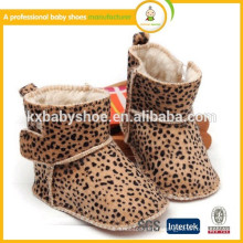 Nouvelle arrivee! 2015 bottes chaudes pour bébé léopard d'hiver
